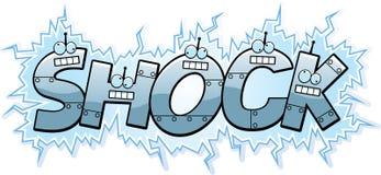 Cartoon Shock Text Stock Images