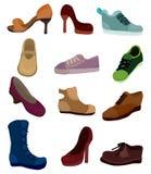 Cartoon shoes icon Stock Photo