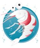 Cartoon Shrimp Stock Photos