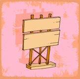 Cartoon sign illustration , vector icon. Royalty Free Stock Image