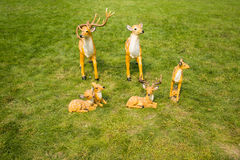Cartoon Sika deer Royalty Free Stock Photography
