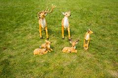 Cartoon Sika deer Royalty Free Stock Photography