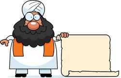 Cartoon Sikh Sign Stock Photo