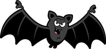 Cartoon Sinister Bat Stock Images