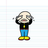 Cartoon sketch Royalty Free Stock Photography