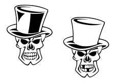 Cartoon skull Royalty Free Stock Photos