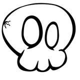 Cartoon Skull Royalty Free Stock Photo