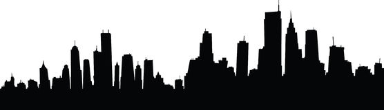 Cartoon Skyline Stock Illustration - Image: 41193854