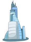 Cartoon Skyscraper Royalty Free Stock Images