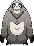 Cartoon Sloth Smiling Royalty Free Stock Photo