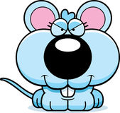 Cartoon Sly Baby Mouse Stock Photos