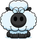 Cartoon Sly Lamb Stock Image