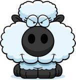 Cartoon Sly Lamb Stock Image