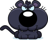 Cartoon Sly Panther Stock Photo