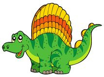 Cartoon small dinosaur Stock Image
