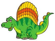Cartoon small dinosaur. Illustration Stock Image