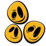 Cartoon smileys Royalty Free Stock Image