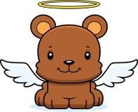 Cartoon Smiling Angel Bear Royalty Free Stock Photography