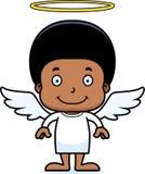 Cartoon Smiling Angel Boy Royalty Free Stock Images