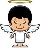 Cartoon Smiling Angel Boy Stock Photos