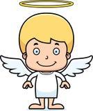 Cartoon Smiling Angel Boy Royalty Free Stock Photo