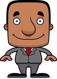 Cartoon Smiling Businessperson Man Royalty Free Stock Photos