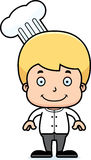 Cartoon Smiling Chef Boy Royalty Free Stock Images