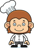 Cartoon Smiling Chef Monkey Stock Photo