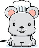 Cartoon Smiling Chef Mouse Royalty Free Stock Photo