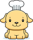 Cartoon Smiling Chef Puppy Royalty Free Stock Images