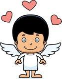 Cartoon Smiling Cupid Boy Stock Photos