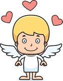 Cartoon Smiling Cupid Boy Royalty Free Stock Photo