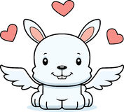 Cartoon Smiling Cupid Bunny Royalty Free Stock Photo