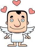 Cartoon Smiling Cupid Man Royalty Free Stock Photos