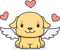 Cartoon Smiling Cupid Puppy Royalty Free Stock Image