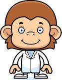 Cartoon Smiling Doctor Monkey Stock Photos