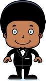 Cartoon Smiling Groom Boy Stock Photos