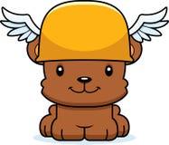 Cartoon Smiling Hermes Bear Stock Images