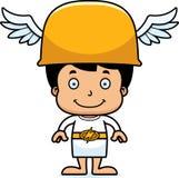 Cartoon Smiling Hermes Boy Stock Image