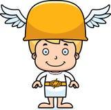 Cartoon Smiling Hermes Boy Stock Photos