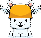Cartoon Smiling Hermes Bunny Royalty Free Stock Photos