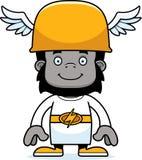 Cartoon Smiling Hermes Gorilla Stock Photos