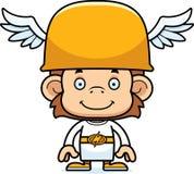 Cartoon Smiling Hermes Monkey Stock Photo