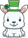 Cartoon Smiling Irish Bunny Royalty Free Stock Images