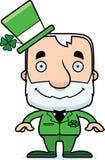 Cartoon Smiling Irish Man Stock Images