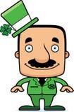 Cartoon Smiling Irish Man Royalty Free Stock Photography