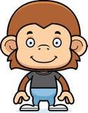 Cartoon Smiling Monkey Stock Photos