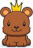 Cartoon Smiling Prince Bear Royalty Free Stock Photo