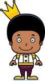 Cartoon Smiling Prince Boy Stock Image