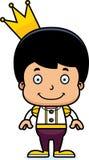 Cartoon Smiling Prince Boy Royalty Free Stock Image
